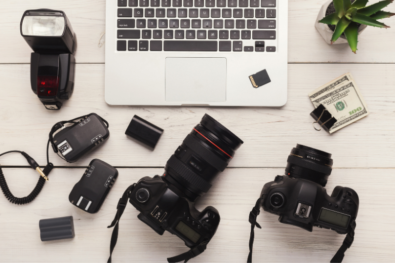 a creative virtual assistant can help your small business with photography and video editing