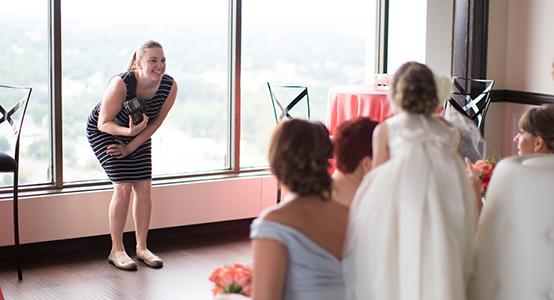 kelly benton as a wedding photographer