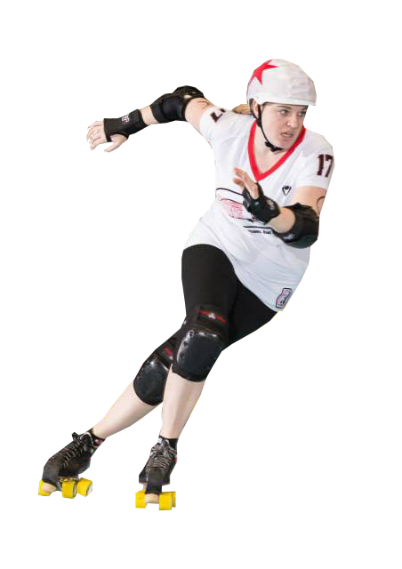 kelly benton virtual assistant as a roller derby player